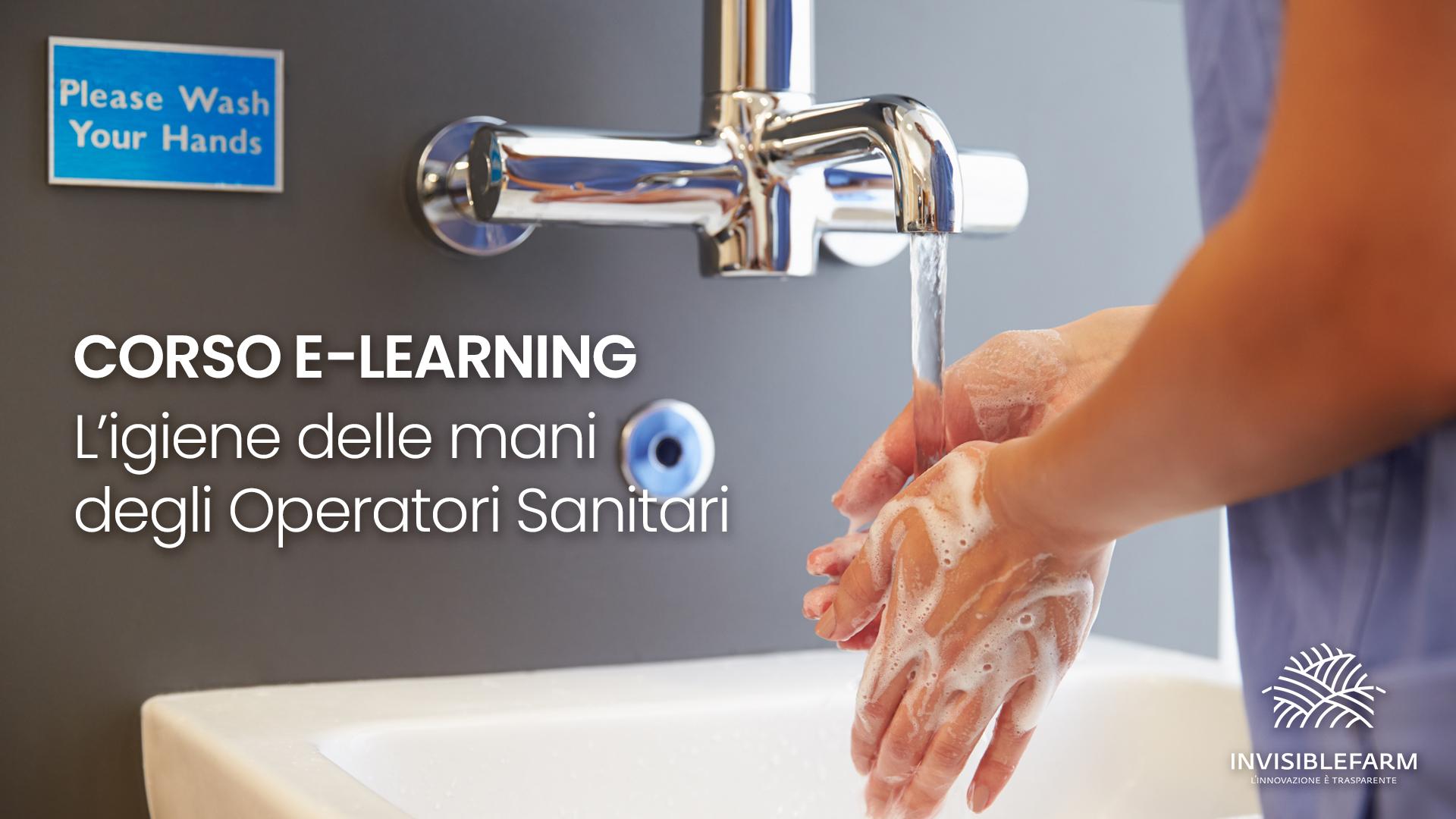 Corso l'igiene delle mani degli operatori sanitari