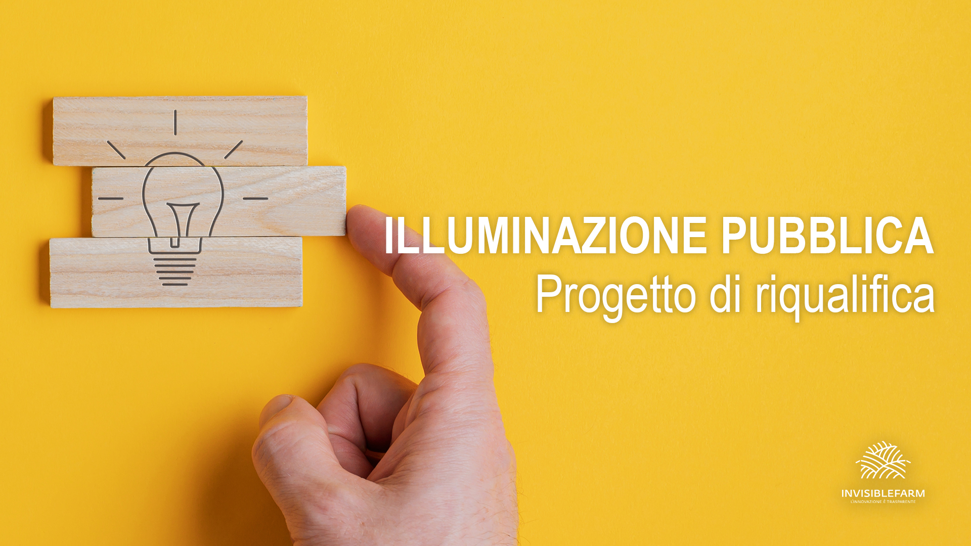 Progetto di riqualifica impianto di illuminazione pubblica