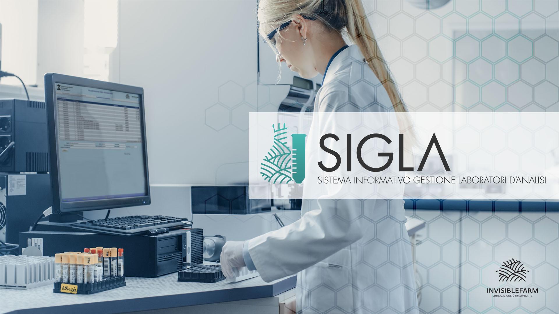 laboratorio di analisi con il sistema di SIGLA per gli IZS italiani