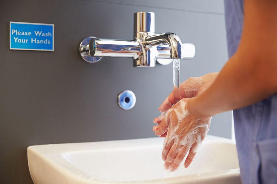 copertina del corso e-learning igiene delle mani