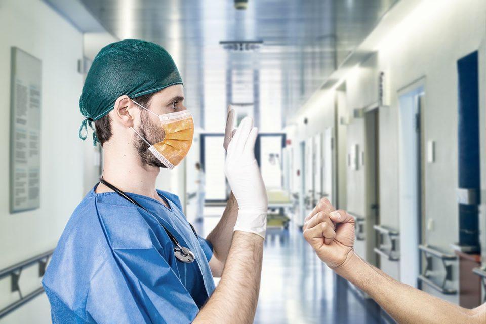 copertina del corso per la prevenzione delle aggressioni al personale sanitario