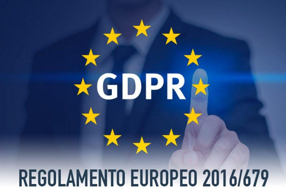 copertina del corso sul regolamento europeo GDPR