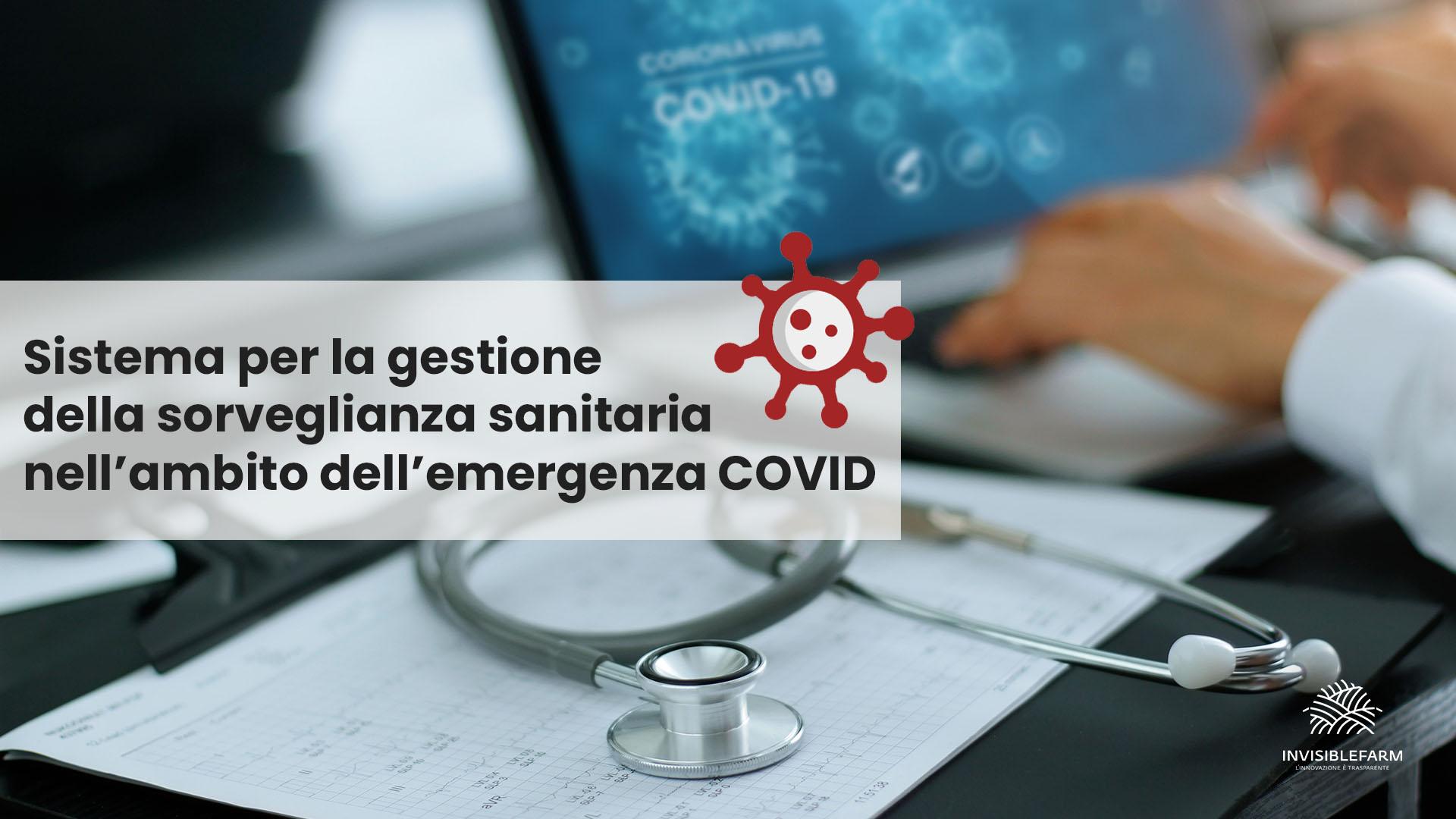 il sistema per la gestione della sorveglianza sanitaria nell'ambito dell'emergenza COVID