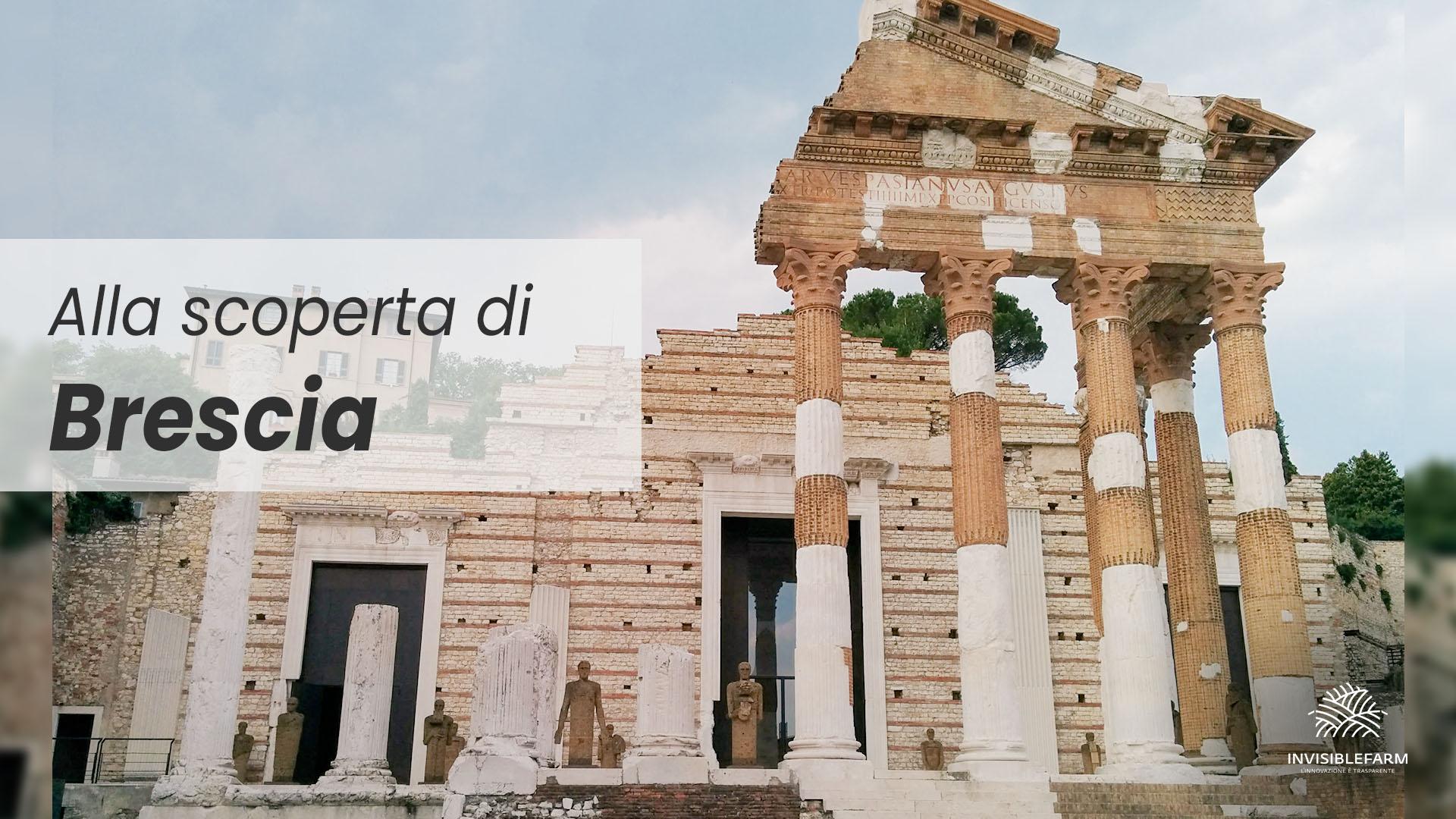 Tempio Capitolino di Brescia e visita alla città